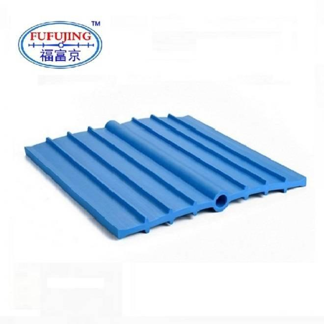 Ribbed PVC Waterstop with Center Bulb